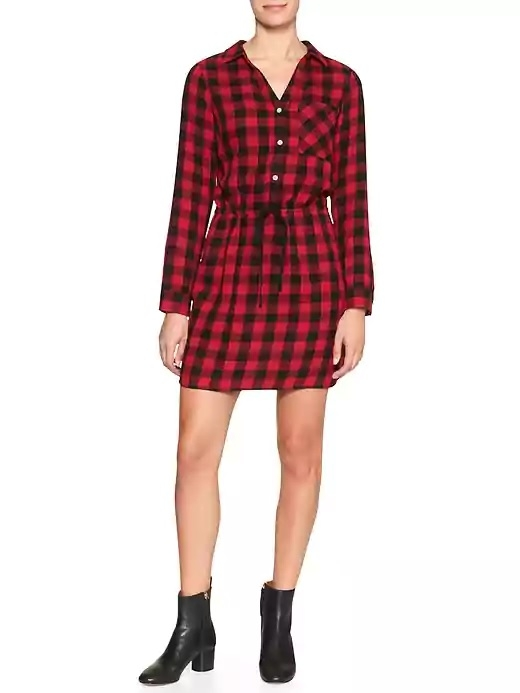 Gap Factory PLaid Dress