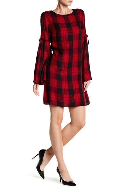 Nodstrom Rack Plaid Dress